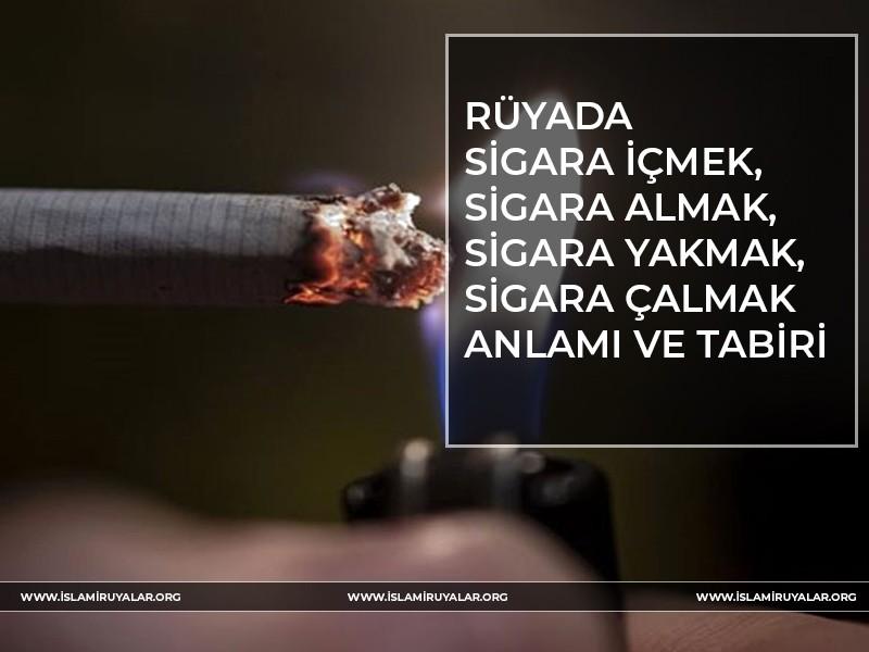 Rüyada Sigara İçmek