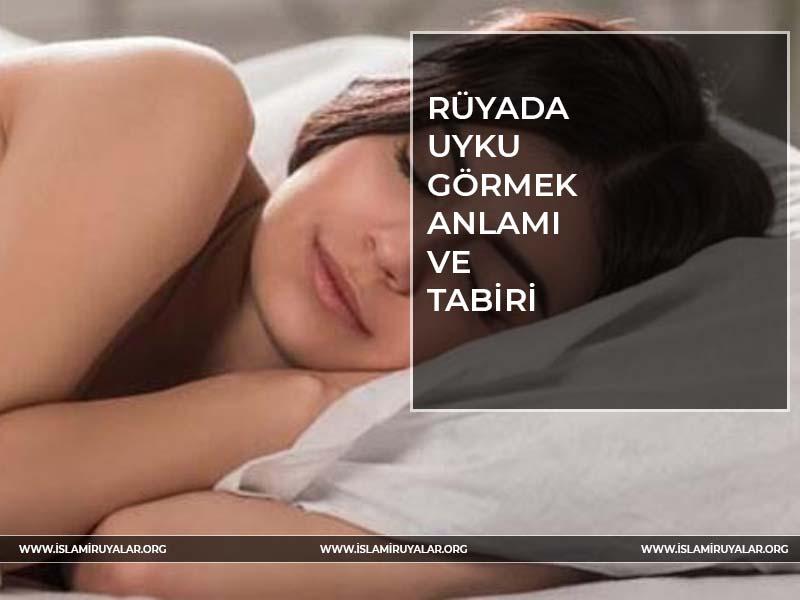 Rüyada uyumak
